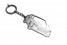 Keychain Hyundai Elantra VII CN7 2020+ - (type 3D)