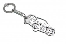Keychain Jeep Compass I 2011-2016 - (type 3D)