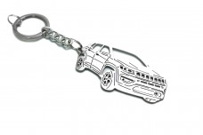 Keychain Jeep Compass II 2016+ - (type 3D)