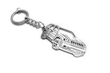 Keychain Jeep Grand Cherokee 2005-2010 - (type 3D)