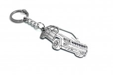 Keychain Jeep Grand Cherokee 2010+ - (type 3D)
