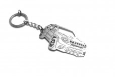 Keychain Jeep Grand Cherokee IV TrackHawk 2018+ - (type 3D)