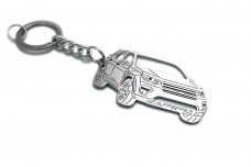 Keychain Land Rover Discovery Sport 2015+ - (type 3D)