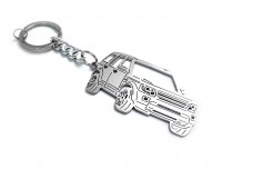 Keychain Land Rover Discovery IV 2009-2016 - (type 3D)