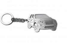 Keychain Land Rover Freelander II 2006+ - (type 3D)