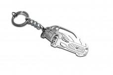 Keychain Maserati Ghibli III 2013+ - (type 3D)