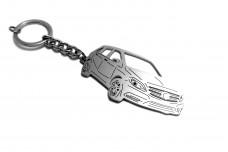 Keychain Mercedes B-Class W246 2012-2018 - (type 3D)