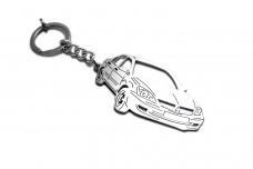 Keychain Mitsubishi Lancer IX 2000-2010 - (type 3D)