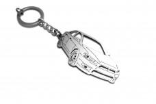 Keychain Mitsubishi Lancer X 4D 2007+ - (type 3D)
