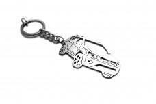 Keychain Mitsubishi Outlander II XL 2007-2012 - (type 3D)