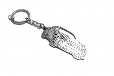 Keychain Nissan GT-R 2008+ - (type 3D)