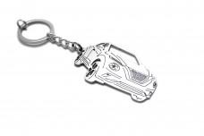 Keychain Nissan Juke II 2020+ - (type 3D)