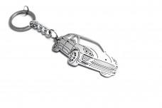 Keychain Porsche Macan 2014+ - (type 3D)