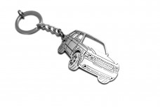 Keychain Range Rover III 2002-2012 - (type 3D)