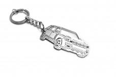 Keychain Range Rover IV 2012+ - (type 3D)