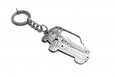 Keychain Range Rover Sport I 2005-2013 - (type 3D)