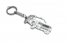 Keychain Renault Duster I 2010-2018 - (type 3D)
