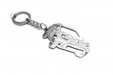 Keychain Renault Duster II 2018+ - (type 3D)