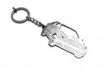 Keychain Skoda Octavia II (A5) 2004-2013 - (type 3D)
