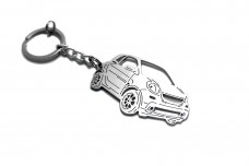 Keychain Smart Fortwo III 2014+ - (type 3D)