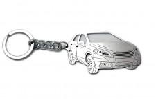 Keychain Suzuki SX4 II 2013+ - (type 3D)