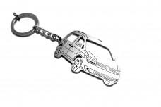Keychain Volkswagen Caddy III 2004-2015 - (type 3D)