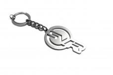 Keychain Jaguar with logo SVR - (type LOGO)