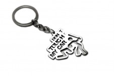 "Keychain ""Don't Touch My Car""  - (type STEEL)"
