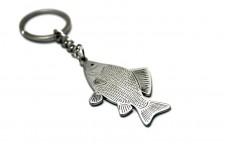 Keychain Fish Сrucian - (type STEEL)
