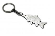 Keychain Fish Carp - (type STEEL)