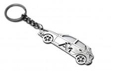 Keychain Audi A1 I 2010-2018 - (type STEEL)
