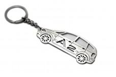 Keychain Audi A2 1999-2005 - (type STEEL)