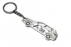 Keychain Audi A3 8P 2003-2012 - (type STEEL)