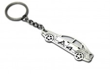 Keychain Audi A4 B6 4D 2000-2004 - (type STEEL)