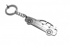 Keychain BMW 1 E87 5D 2004-2012 - (type STEEL)