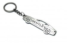 Keychain Bentley Continental GT I 2003-2011 - (type STEEL)