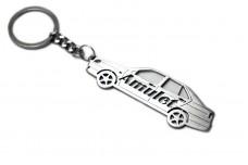 Keychain Chery Amulet 2003+ - (type STEEL)