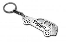 Keychain Chery Tiggo I 2005-2014 - (type STEEL)