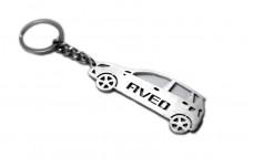 Keychain Chevrolet Aveo 5D I 2002-2011 - (type STEEL)