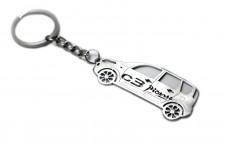 Keychain Citroen C3 Picasso 2007+ - (type STEEL)