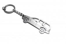 Keychain Dodge Durango II 2004-2011 - (type STEEL)