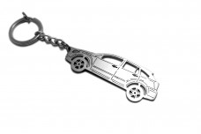 Keychain Dodge Caliber 2007-2012 - (type STEEL)