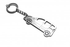 Keychain Fiat Fiorino III 2008+ - (type STEEL)