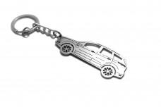 Keychain Ford Escape III 2013-2019 - (type STEEL)