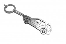 Keychain Ford Bronco Sport 2021+ - (type STEEL)