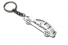 Keychain Hyundai Accent 2006-2010 - (type STEEL)