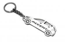 Keychain Hyundai Accent 5D 2011-2017 - (type STEEL)