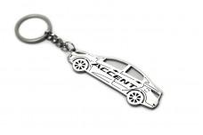 Keychain Hyundai Accent 4D 2011-2017 - (type STEEL)