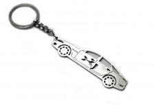 Keychain Jaguar XJ Mark 4 (X 351) 2009+ - (type STEEL)