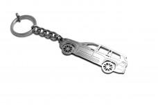 Keychain Jeep Grand Cherokee V 2021+ - (type STEEL)